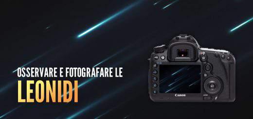 Blue Journey - Fotografare le stelle cadenti Leonidi