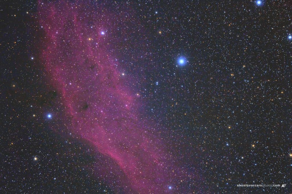 California Nebula NGC1499 Astrofotografia by Alessio Vaccaro