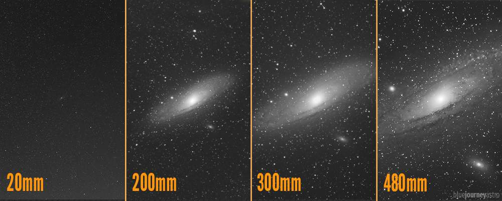 Andromeda Focal Length