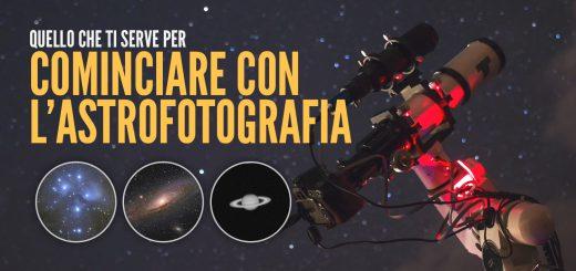 Blue Journey Astrophotography - Iniziare con l'Astrofotografia