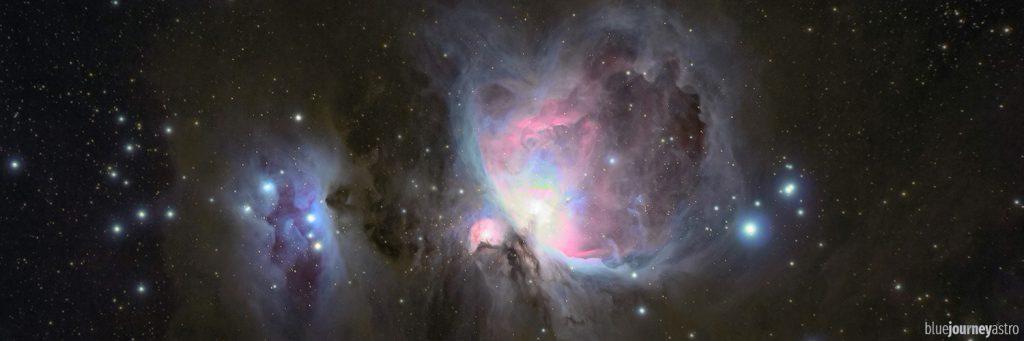 Blue Journey Astrophotography - Deep Sky Orion Nebula