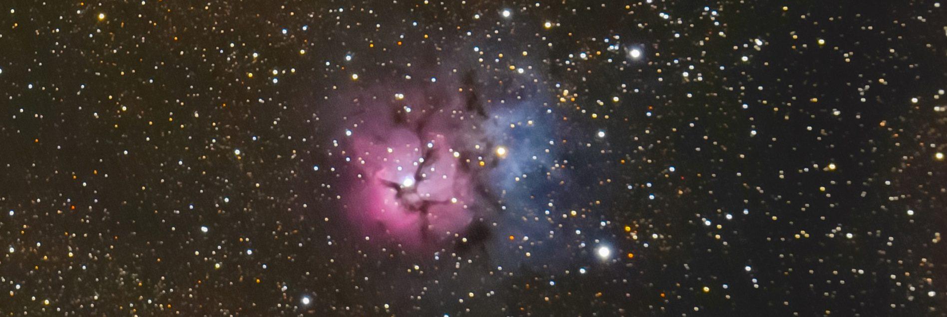 M20, la Nebulosa Trifida - Blue Journey