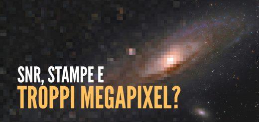 snr stampa megapixel ccd cmos segnale rumore