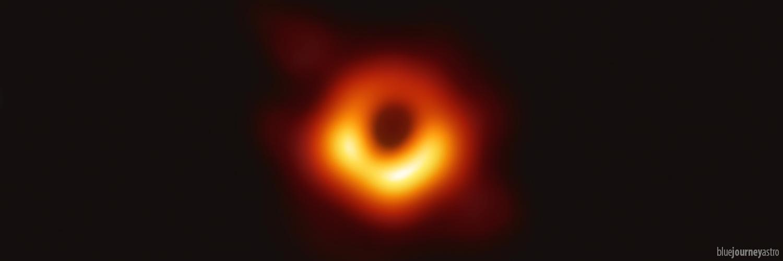 La prima foto al mondo della storia di un buco nero (in Virgo A). [EHT/ESO]
