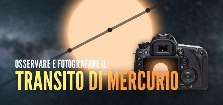 Transito Mercurio davanti al Sole 2019 - Blue Journey Astrophotography