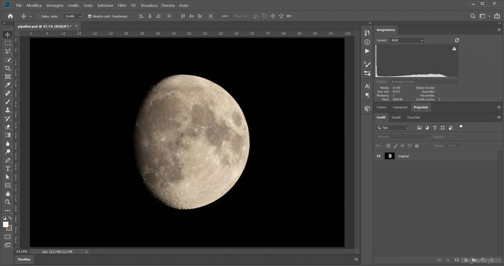 Mineral Moon Step 1