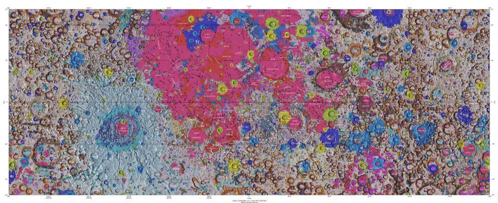 Moon USGS Geologic Map
